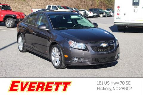 Certified Pre-Owned 2014 Chevrolet Cruze LTZ