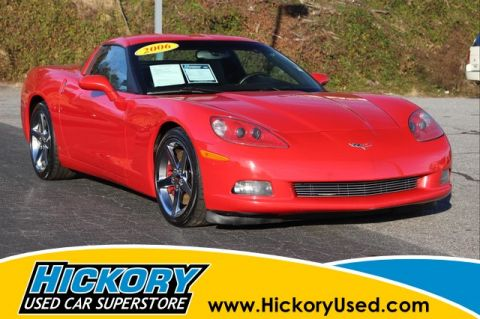 Pre-Owned 2006 Chevrolet Corvette Base Coupe