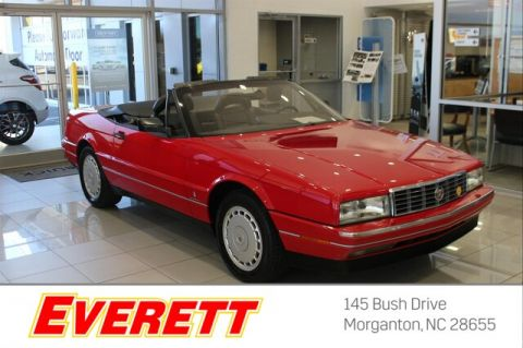 Pre-Owned 1992 Cadillac Allante Coupe 2dr Convertible