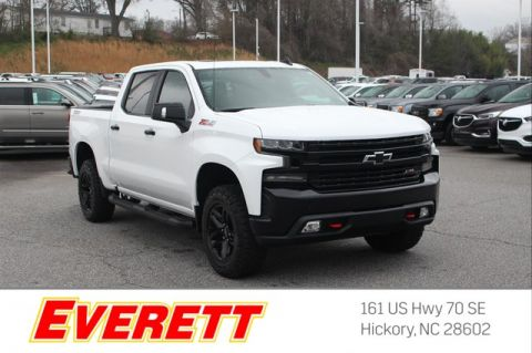 Certified Pre-Owned 2019 Chevrolet Silverado 1500 LT Trail Boss Crew Cab 4x4