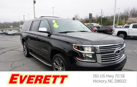 Certified Pre-Owned 2016 Chevrolet Suburban LTZ 4x4
