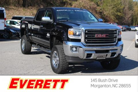 Pre-Owned 2015 GMC Sierra 2500HD SLT Rocky Ridge Crew Cab 4x4