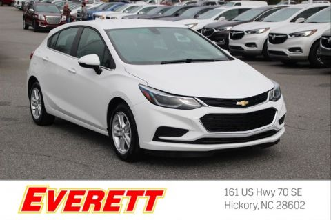 Certified Pre-Owned 2018 Chevrolet Cruze LT Auto Hatchback