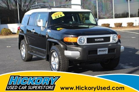 Pre-Owned 2013 Toyota FJ Cruiser Base 4x4
