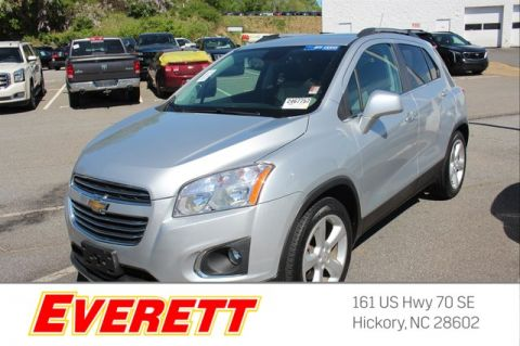 Certified Pre-Owned 2016 Chevrolet Trax LTZ FWD