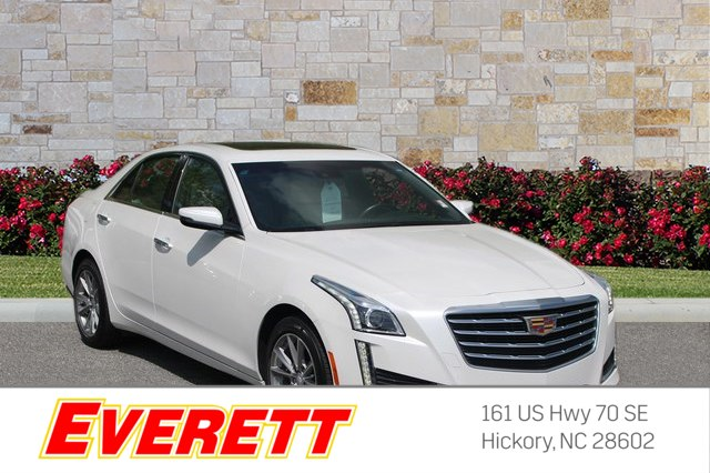 Certified Pre-Owned 2017 Cadillac CTS 3.6L Luxury AWD