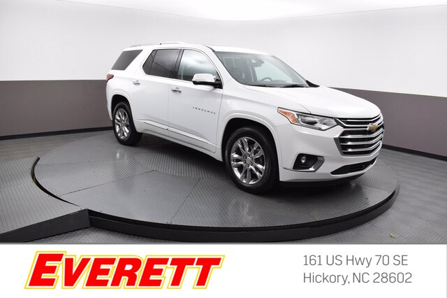 Pre-Owned 2020 Chevrolet Traverse High Country AWD