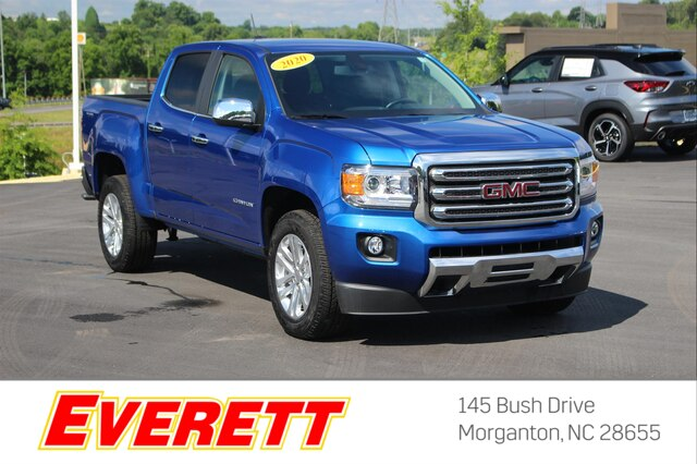 Pre-Owned 2020 GMC Canyon SLT Crew Cab 4x4