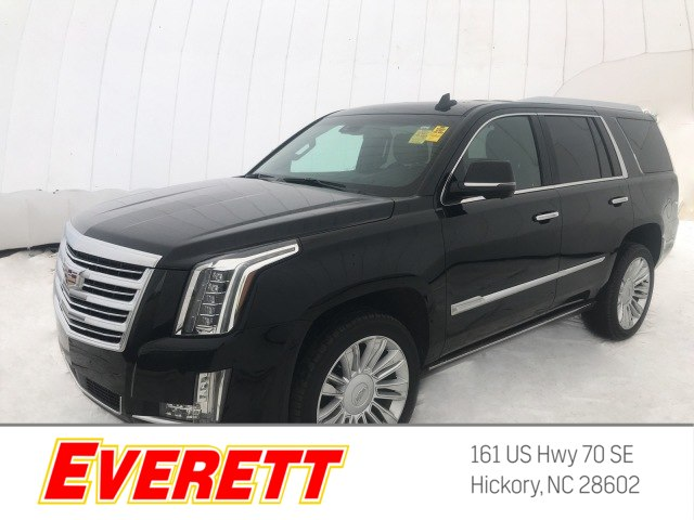 Certified Pre Owned 2017 Cadillac Escalade Platinum 4x4
