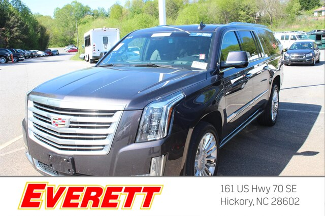 Certified Pre Owned 2016 Cadillac Escalade Esv Platinum 4x4