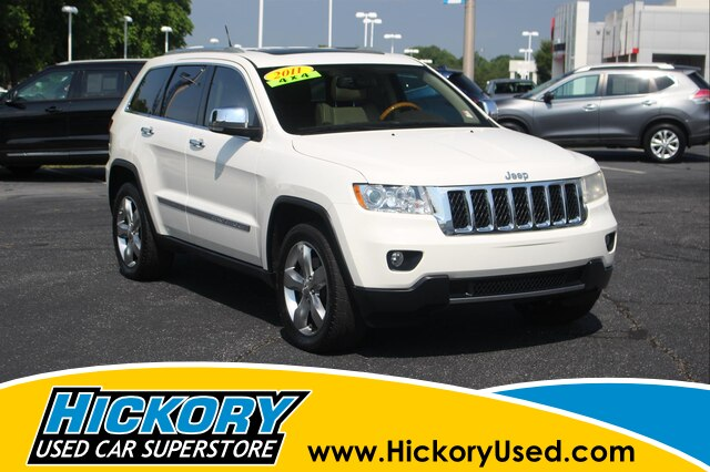 Pre-Owned 2011 Jeep Grand Cherokee Overland 4x4