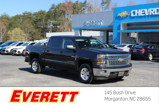 Certified Pre-Owned 2015 Chevrolet Silverado 1500 1LT Crew Cab 4x4