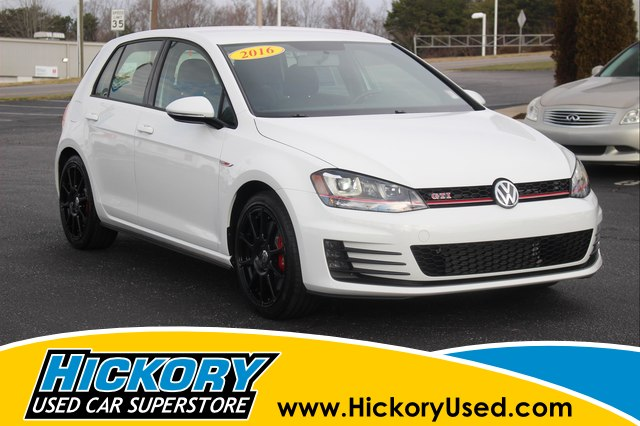 Pre Owned 2016 Volkswagen Golf Gti S W Performance Package 4 Door