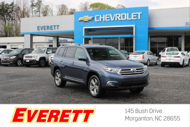 Pre-Owned 2013 Toyota Highlander Limited V6 AWD