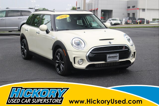 Pre Owned 2016 Mini Clubman Cooper S Wagon In Hickory Hb802
