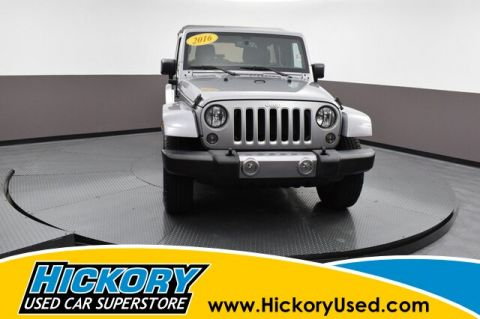 Pre-Owned 2016 Jeep Wrangler Unlimited Sahara 4x4