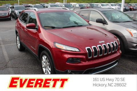 Pre-Owned 2015 Jeep Cherokee Limited 4x4