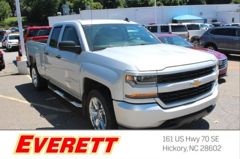 Certified Pre-Owned 2017 Chevrolet Silverado 1500 Silverado Custom Double Cab 4x2