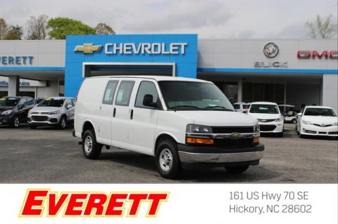 Pre-Owned 2018 Chevrolet Express 2500 Work Cargo Van