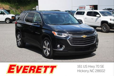 Certified Pre-Owned 2019 Chevrolet Traverse LT Leather AWD