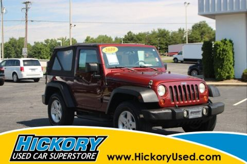 Pre-Owned 2010 Jeep Wrangler Sport 4x4