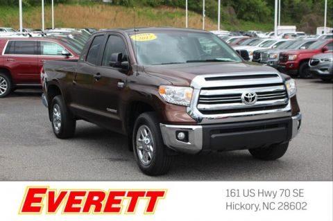 Pre-Owned 2017 Toyota Tundra SR 5.7L V8 Double Cab 4x2